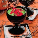 Green bamboo rice pudding recipe for Halloween